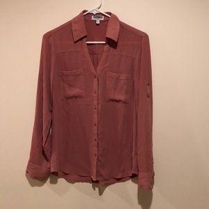 Express The Portofino Shirt Slim Fit